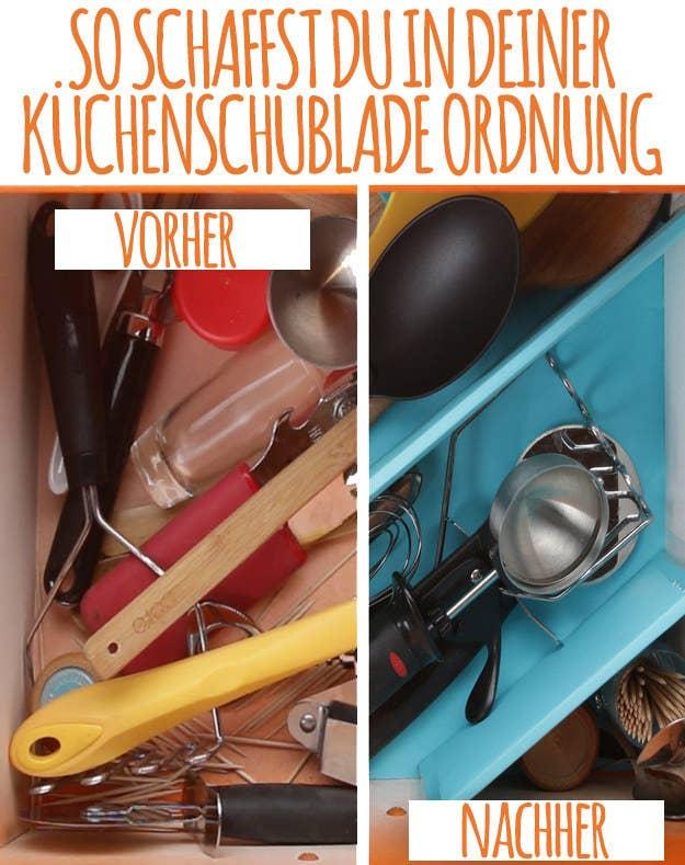 So schaffst Du mehr Platz in Deiner Küchenschublade