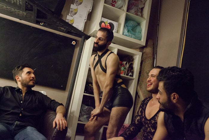 """This photo essay from photographer Bradley Secker shows us the behind the scenes of the hunt for Mr. Gay Syria. His pictures are deeply humanizing and show us how the contestants' participation is simultaneously a political act and a fabulous one."" —Dennis Huynh, design director, News"