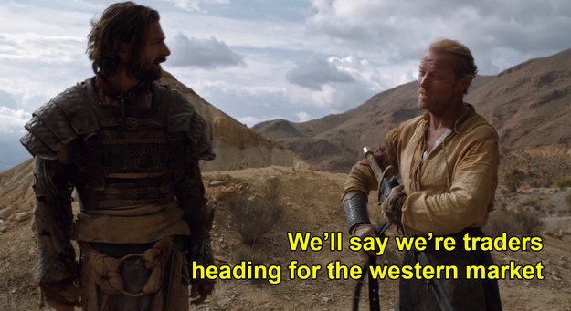 If you saw last week's Game of Thrones, you saw Jorah's master plan to save Daenerys go into action.