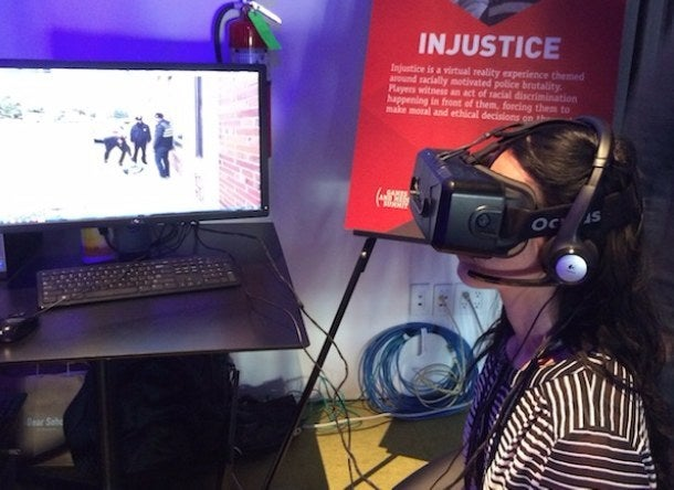 Five Carnegie Mellon students have invented a groundbreaking virtual reality (VR) experience about police brutality.The project, entitled Injustice, forces users to make ethical decisions on the spot as they respond to a violent incident of racial profiling.Gaze interaction and voice recognition tools allow users to interact organically with objects and characters in the 360° environment. Characters respond accordingly, with one police officer even turning his weapon on users who to intervene to stop the brutality.