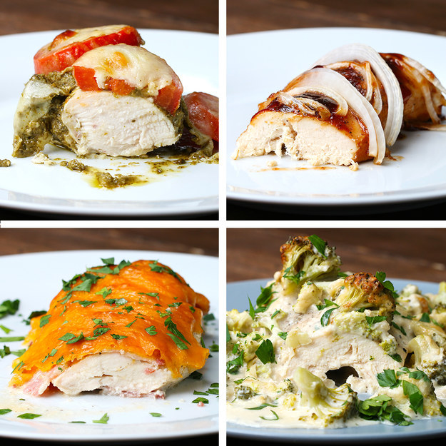 Here Are Four Exciting Ways To Make Baked Chicken