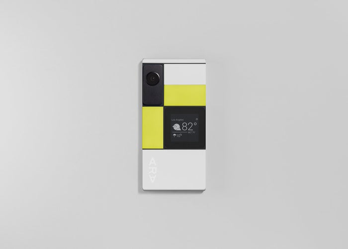 Right now, about 30 people within Google are using the Project Ara phones. But the company is gearing up to give the device a soft release: A developer version of Ara will ship before the end of the year, with a consumer version to follow in 2017.