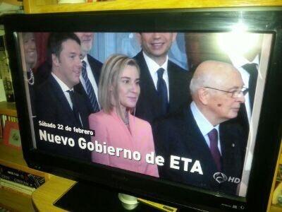 Cuando hicieron lo típico de confundir el Gobierno de Italia con el Gobierno de ETA.