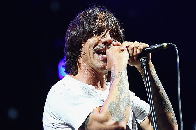 "Anthony Kiedis Says He's ""On The Mend"" After Hospitalization - BuzzFeed News"