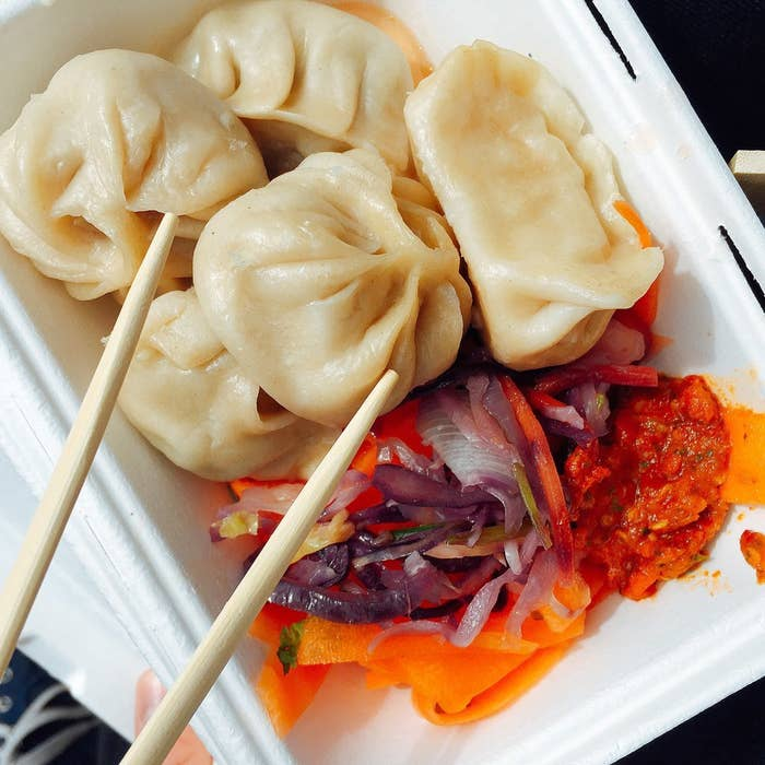 The Momo bar might have been around for a while but the queues prove that Mr Momo's food is as popular as ever. These gorgeous steamed Tibetan dumplings are available with a range of fillings and come with the best home made chilli sauce and lightly pickled salads.