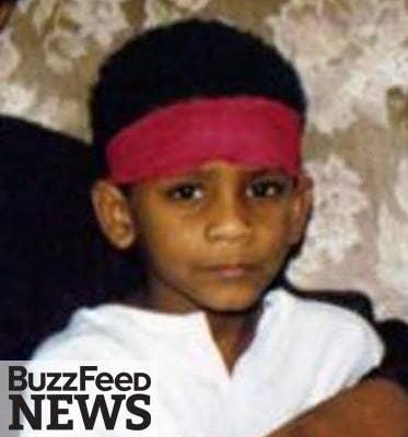 El Shafee Elsheikh, aged five.