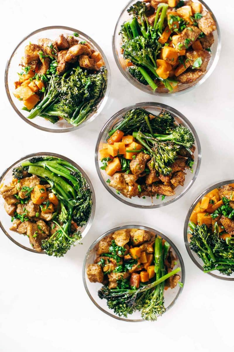 Cooking in bulk doesn't have to be plain and simple, if you don't want it to be! Recipe here.