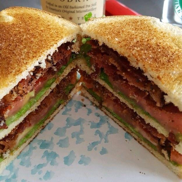 El sándwich más perfecto del mundo.
