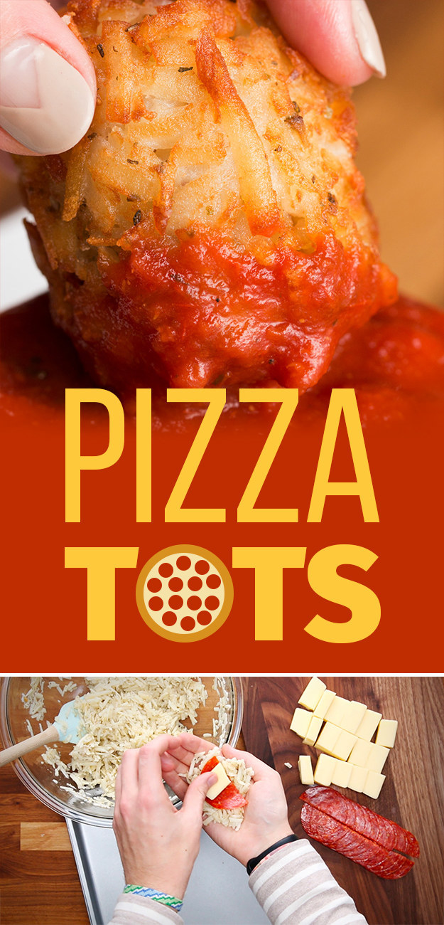 Here's What Happens When You Stuff Pizza Into Tater Tots