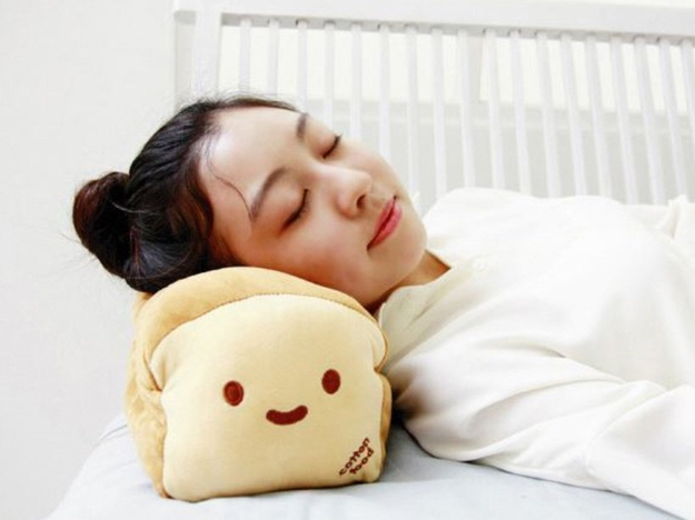 A toast pillow