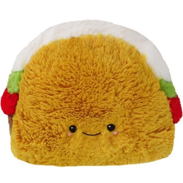 A taco pillow