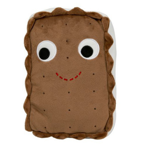 An ice cream sandwich pillow