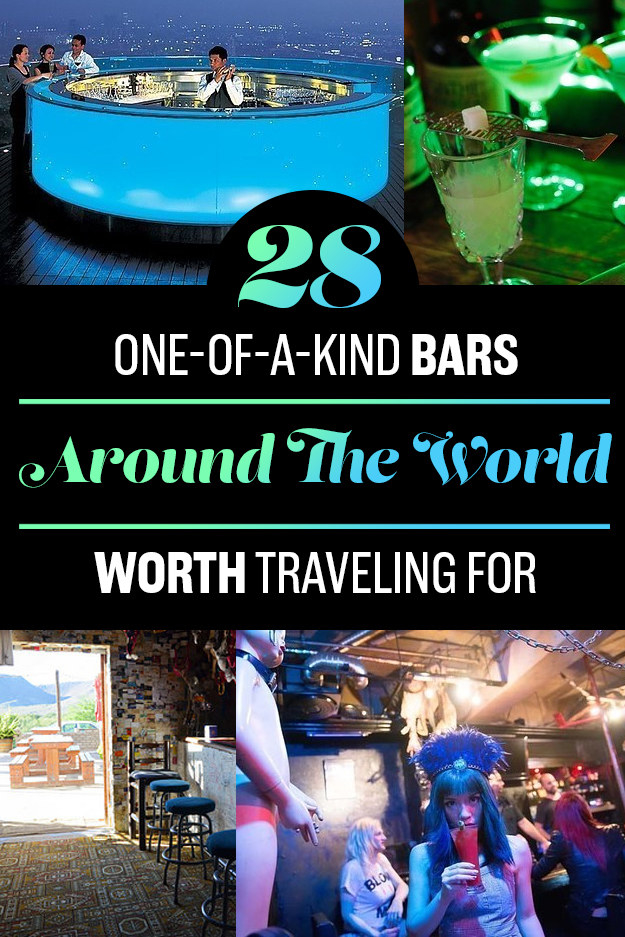 28 Insane Bars With Just The Right Amount Of WTF