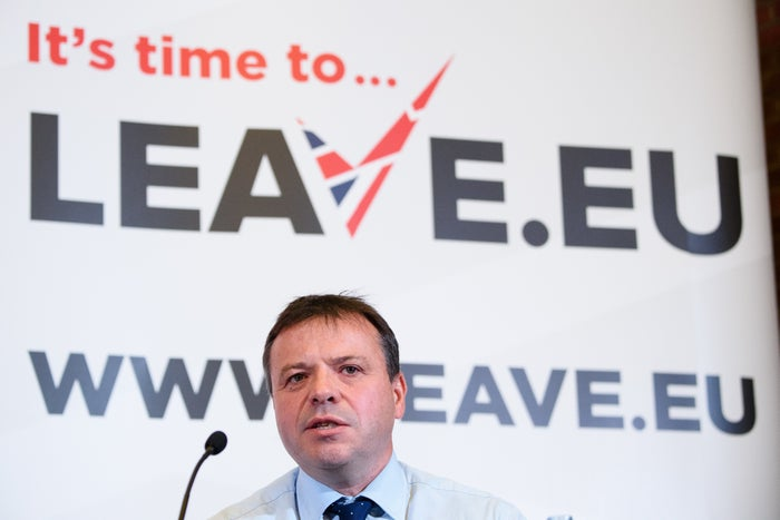 Leave.EU founder and UKIP donor Arron Banks.