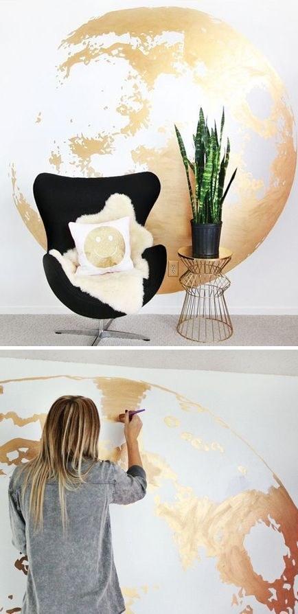 18 formas hermosas de decorar tu casa como el espacio exterior