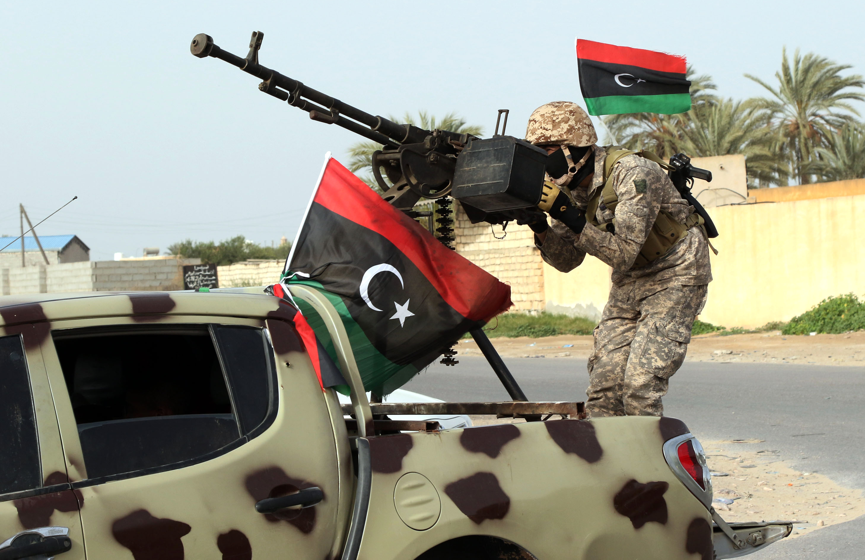 No, U.S. Ground Troops Aren't Headed To Libya Anytime Soon