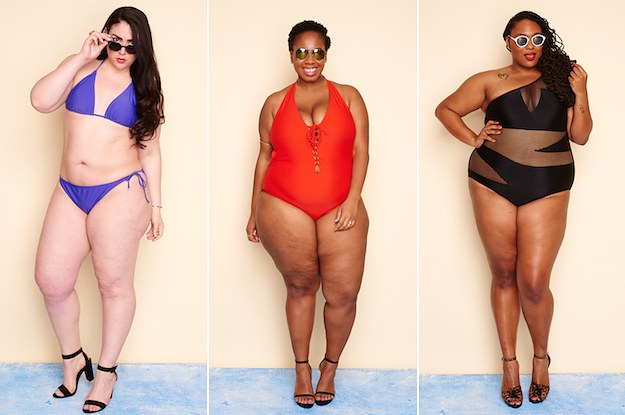 6a0eca51a03c0 We Tried Ashley Graham s New Plus-Size Swimsuits And They re Fierce AF
