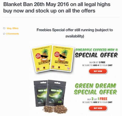 Legal High Ban Will Send Users To The Digital Black Market