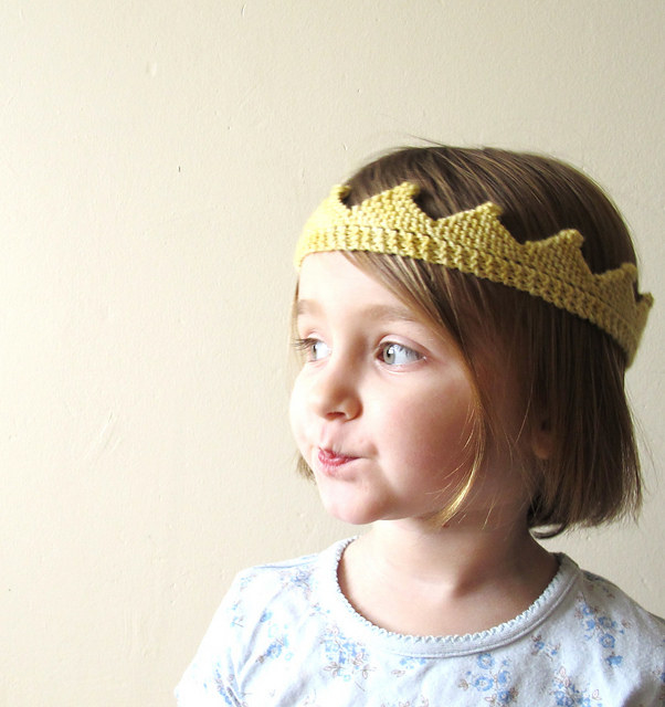 This crown fit for miniature royalty.