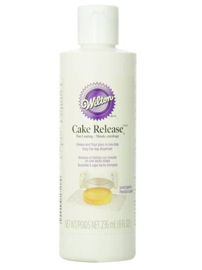 """Every cake baker should be privy to cake release. It's a mix of oil, flour, and shortening. You will never, ever grease and flour a cake pan ever again. That stuff is liquid gold.""— gigglesandkixGet a bottle for $7.05."