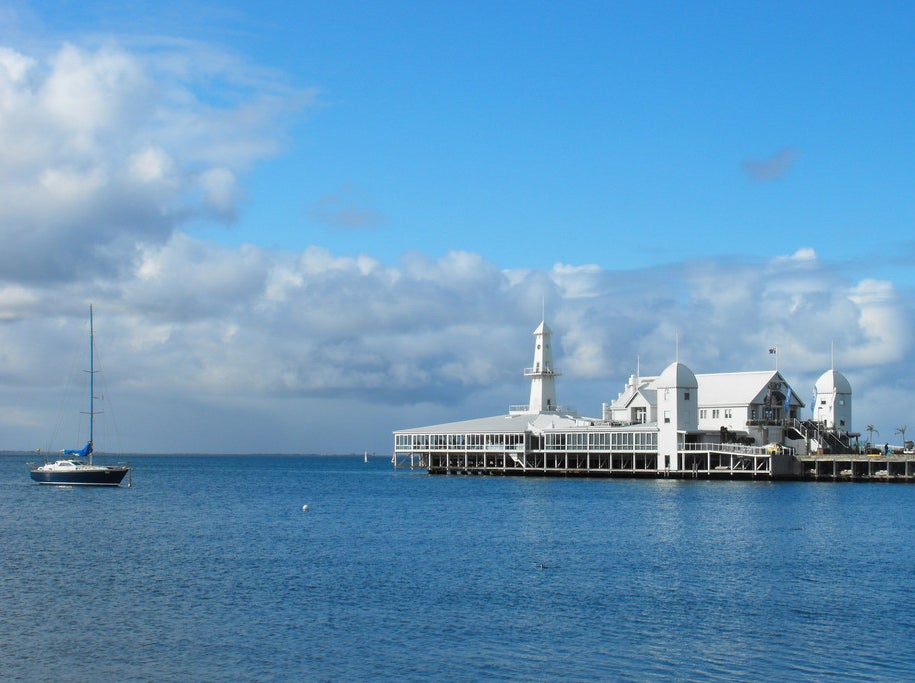 The pier at Geelong