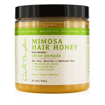 Mimosa Hair Honey Shine Pomade (For Dry, Brittle & Textured Hair)