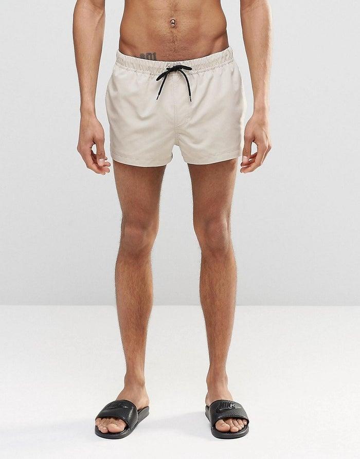 ASOS Super Short Length Swim Shorts — $19.41
