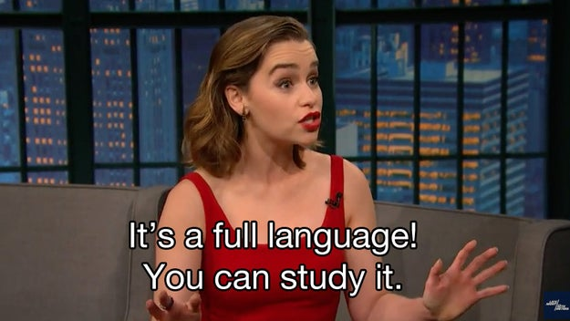 """Emilia Clarke Sang """"Mmmbop"""" In Dothraki And Honestly, It's Not That Great"""