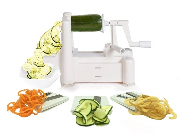This nifty spiralizer for oodles of coodles  (£23.99)
