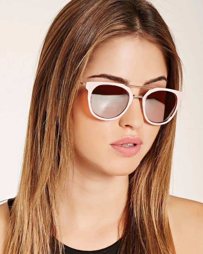 f3d8ef1ca4 1. Get these mirrored aviator sunnies for  9.90 from Forever 21.