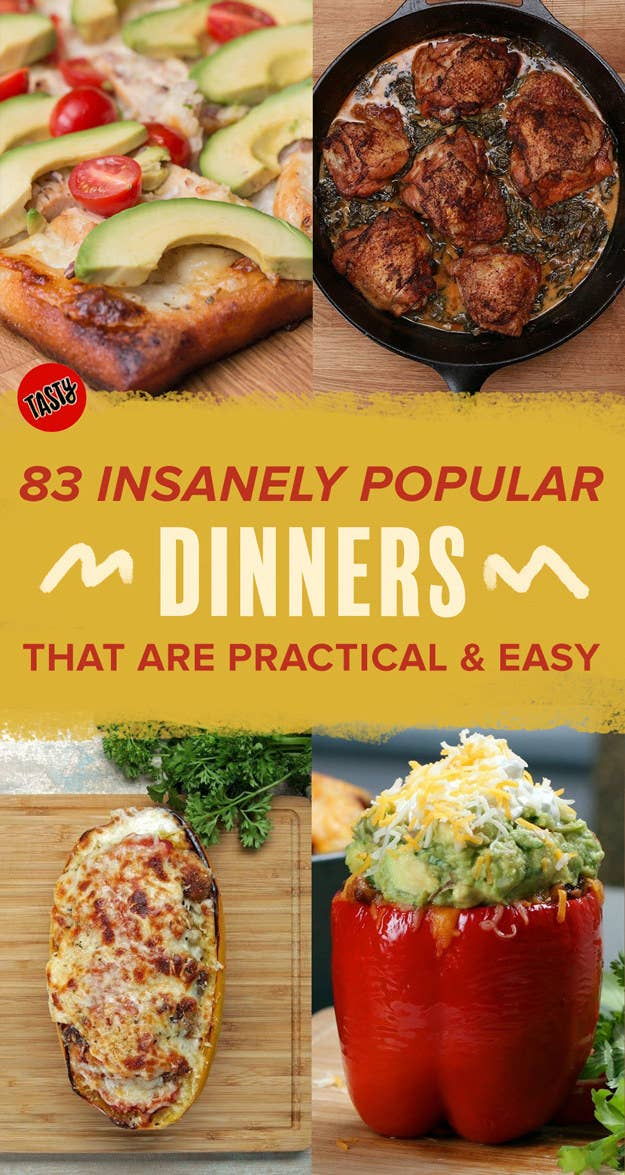 83 insanely popular dinners that are practical and easy share on facebook share forumfinder Image collections