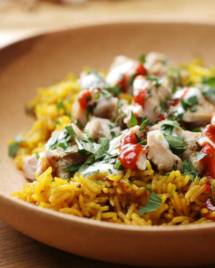 This Chicken And Rice Dish Inspired By The Street Food In New York