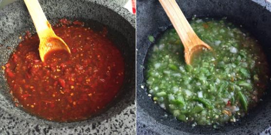 No hay nada más controversial que la respuesta a la pregunta: ¿salsa roja o salsa verde?