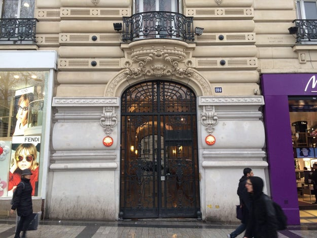 This telecoms company that bought 2 million Lycamobile minutes is registered to a letterbox on the Champs-Élysées.