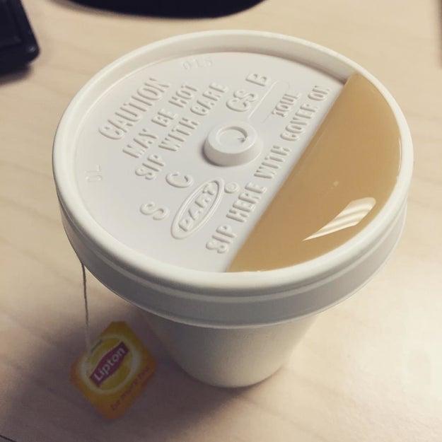 Que no te extrañe si te sientes atraído por este té...