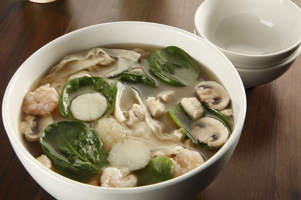 Sopa asiática.