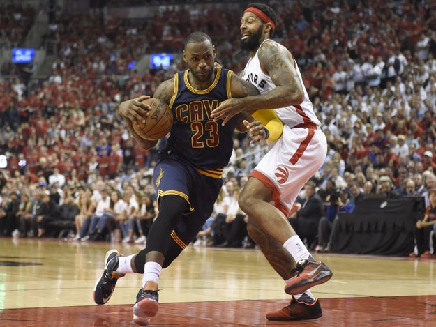 The Cleveland Cavaliers finished off the Toronto Raptors, 113-87 in Game 6 of the Eastern Conference finals Friday night, advancing the Cavs to their second straight NBA Finals.