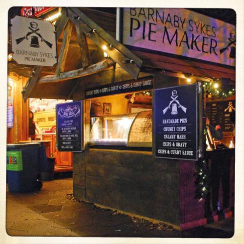 Barnaby Sykes, Pie Maker