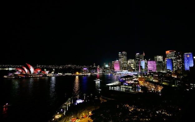 These Light Installations In Sydney Are The Most Psychedelic Thing You'll See All Day
