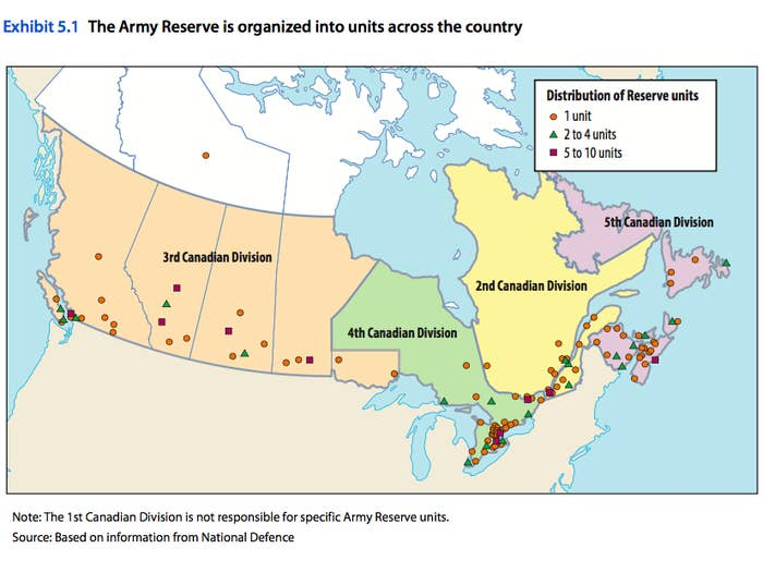 Canada's Army Reserves Are Giving Back Millions Despite Lacking