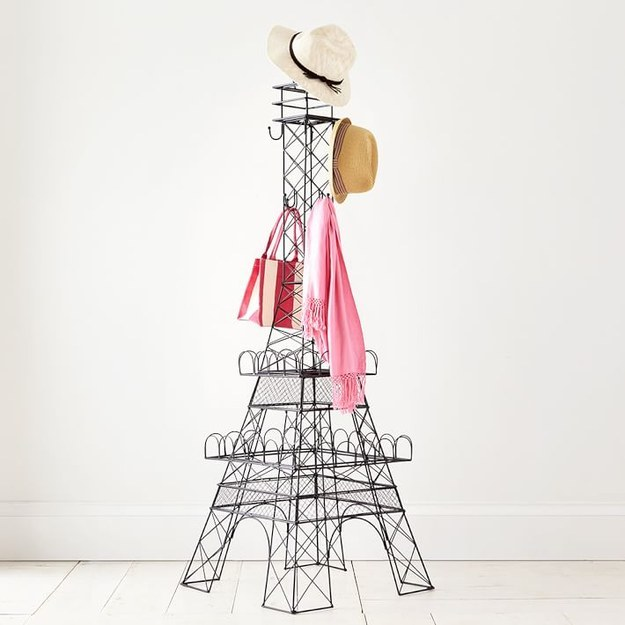 A coat rack that will make you believe you've somehow teleported to Paris.