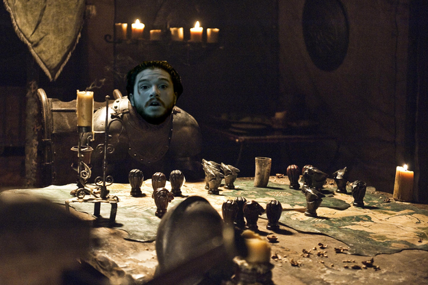 Have a nice meal back at home in Winterfell.