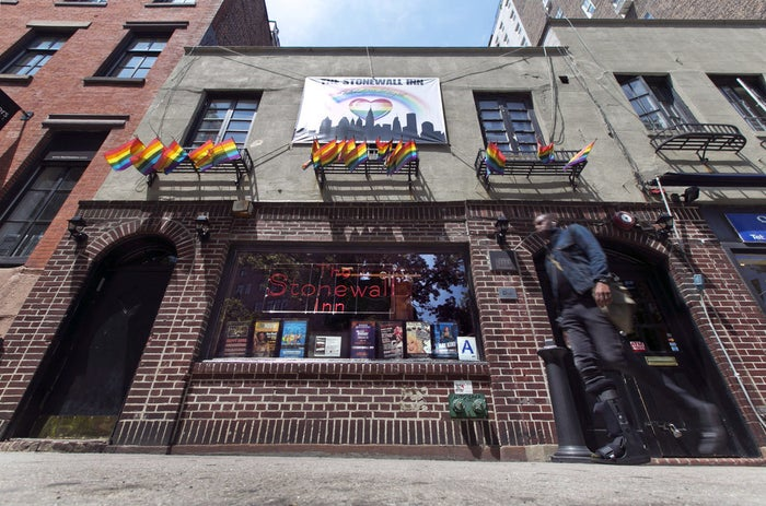 The Stonewall Inn, in New York's Greenwich Village, as seen on May 29, 2014.