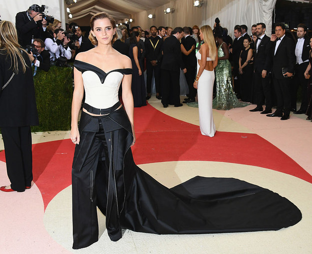 As ever, Emma Watson's beautiful gown was one of the stand out outfits at this year's Met Gala.