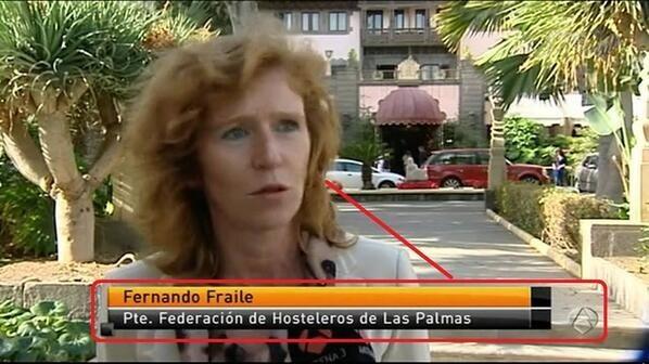 Cuando esta mujer no tenía pinta de llamarse Fernando.