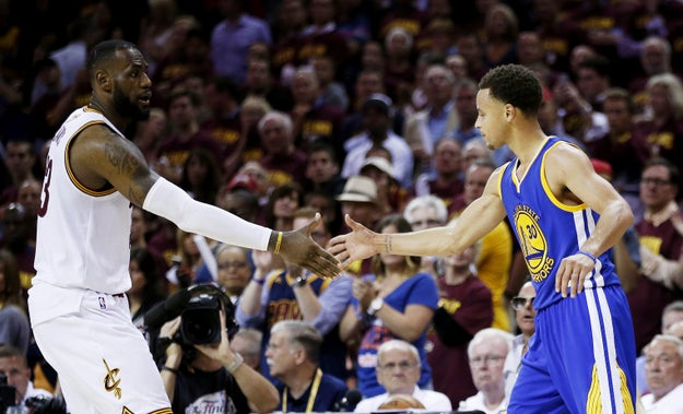 The Warriors will face the Cleveland Cavaliers once again as LeBron James and his teammates try to bring finally a championship home. Cleveland hasn't won a championship in any sport since 1964.