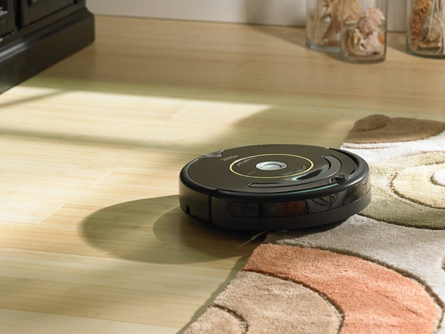A Roomba that adjusts to all different floor types.