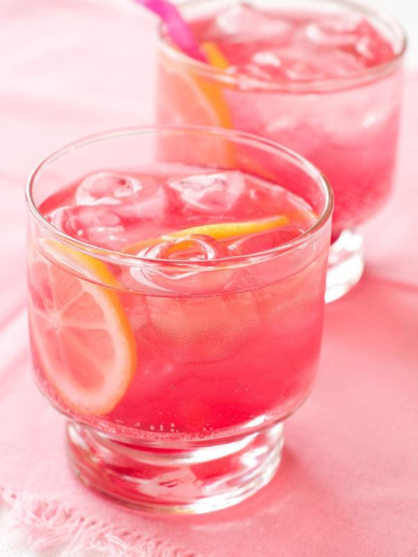 Raspberry-Pink Lemonade