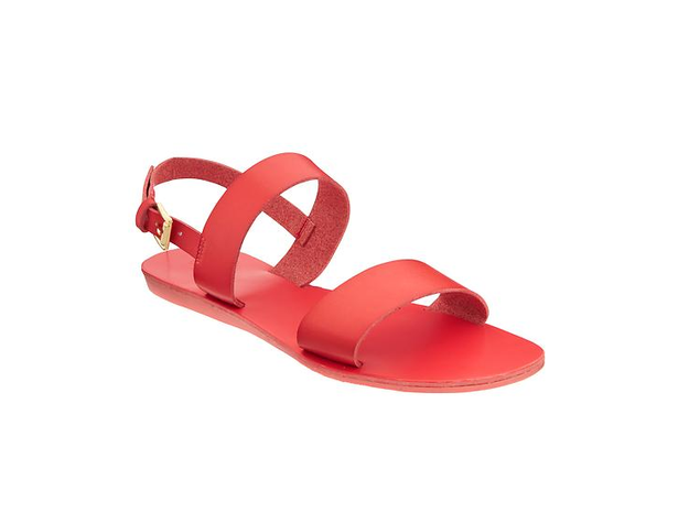 Old Navy Faux Leather Double Strap Sandals, $15.97