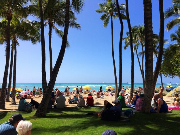 A mais poética: Waikiki Beach – Honolulu, Havaí